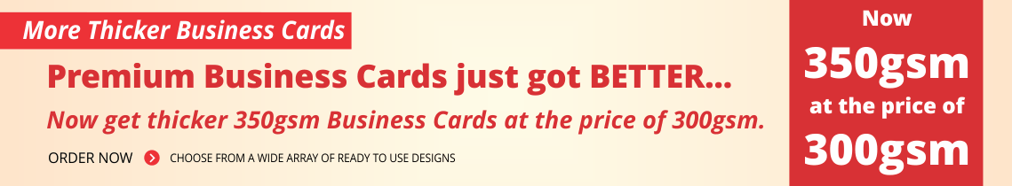 Thicker Premium Business Cards