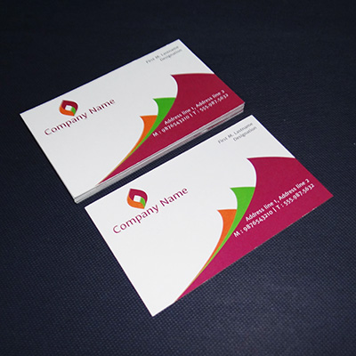 Economy Business Cards (Single Side Printing)