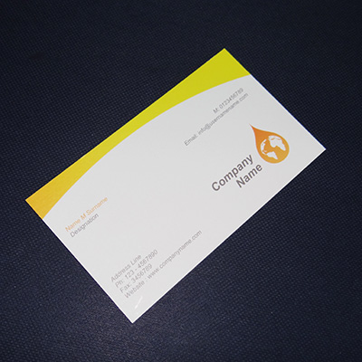 Textured Business Cards (Single side Printing)