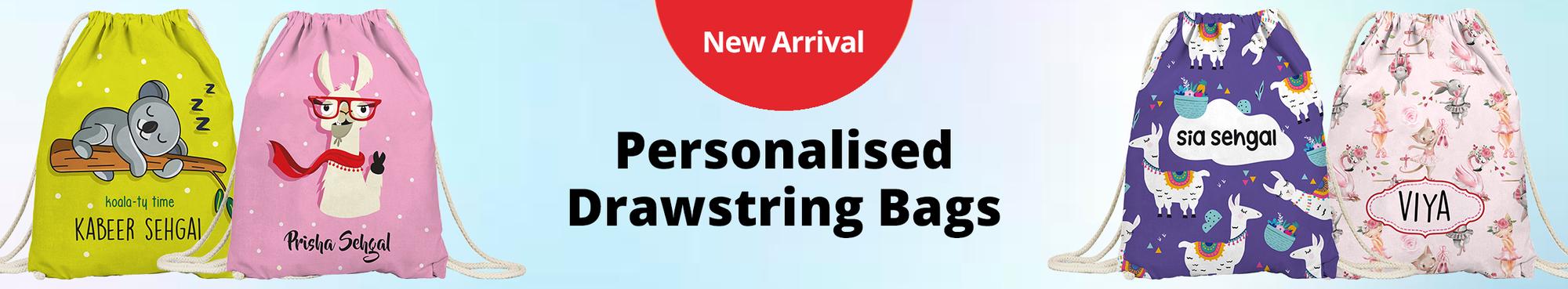 Personalised Drawstring Bags