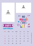 wall calendar theme 2 2021