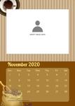 wall calendar theme 10 2020