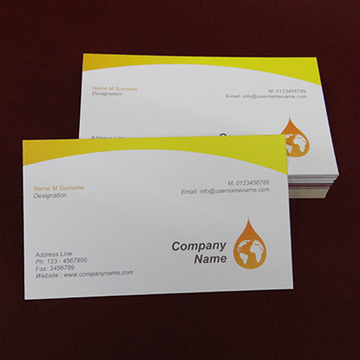 Textured Business Cards (Both Side Printing)