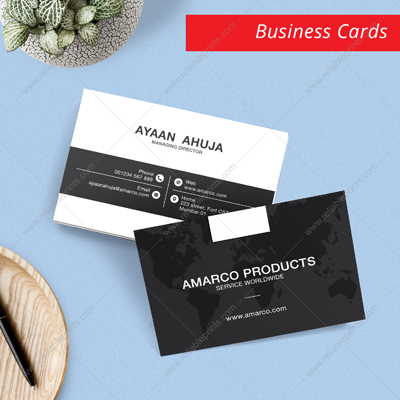 Premium Business Cards (Single Side Printing)