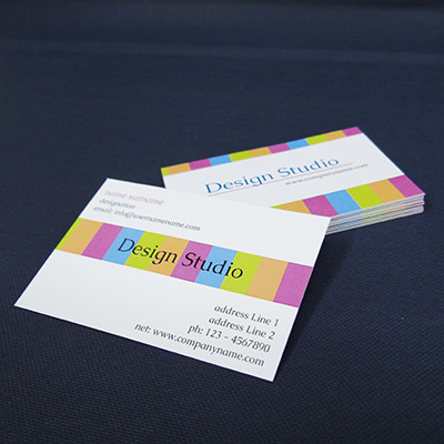 Economy Business Cards (Both Side Printing)